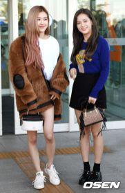 5-BLACKPINK Rose Airport Photo Incheon New York Fashion Week