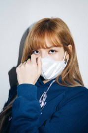 54-BLACKPINK Lisa X-girl Japan Nonagon Collaboration
