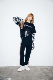 57-BLACKPINK Lisa X-girl Japan Nonagon Collaboration