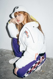 58-BLACKPINK Lisa X-girl Japan Nonagon Collaboration