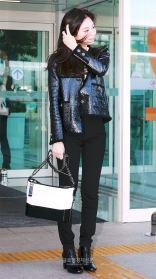 6-BLACKPINK Jennie Airport Photos Incheon to France Paris Fashion Week