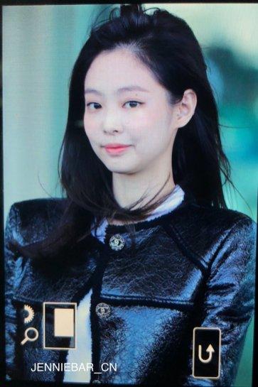61-BLACKPINK Jennie Airport Photos Incheon to Paris Fashion Week