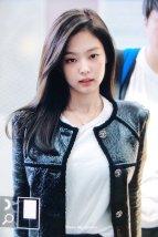 67-BLACKPINK Jennie Airport Photos Incheon to Paris Fashion Week
