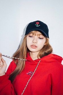 7-BLACKPINK Lisa X-girl Japan 2nd Nonagon Collaboration