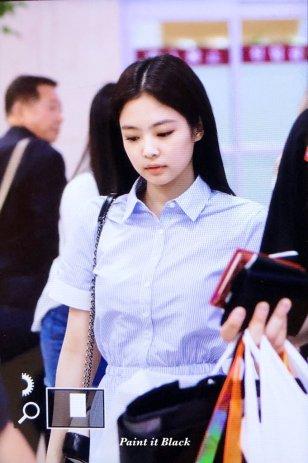 7. BLACKPINK Jennie Airport Photo 31 August 2018 Gimpo