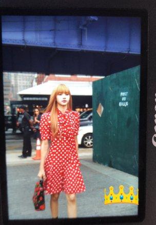 72-BLACKPINK Lisa Michael Kors New York Fashion Week 2018
