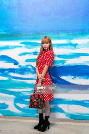 88-BLACKPINK Lisa Michael Kors New York Fashion Week 2018