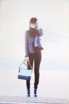 89-BLACKPINK Jennie Airport Photos Incheon to Paris Fashion Week
