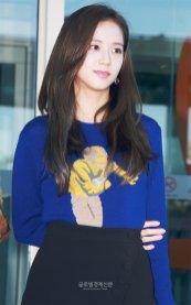 9-BLACKPINK Jisoo Airport Photo Incheon New York Fashion Week