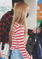 9-BLACKPINK Lisa Airport Photo Incheon Seoul From New York