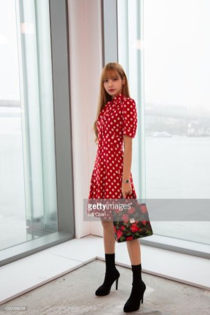 92-BLACKPINK Lisa Michael Kors New York Fashion Week 2018