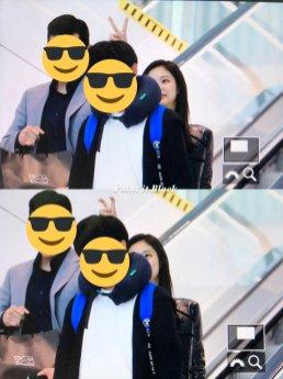 95-BLACKPINK Jennie Airport Photos Incheon to Paris Fashion Week