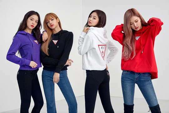 'Wherever GUESS' BLACKPINK for GUESS and LOTTE Department Store