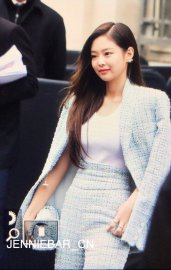 1-BLACKPINK Jennie Chanel Paris Fashion Week Fansite Photos