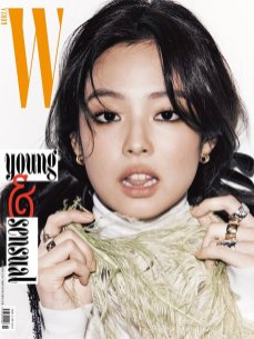 3-BLACKPINK Jennie W Korea Magazine November 2018 Issue