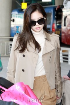 43-BLACKPINK Jennie Airport Photo 4 October 2018 from Paris