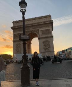 5-BLACKPINK Jennie Instagram Photo 10 October 2018 Paris
