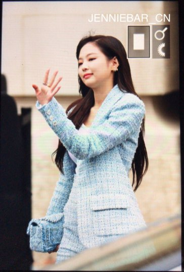 6-BLACKPINK Jennie Chanel Paris Fashion Week Fansite Photos