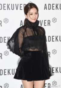 69-BLACKPINK Jisoo ADEKUVER Launch Event 11 October 2018