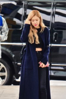 7-BLACKPINK Rose Airport Photos Incheon 5 October 2018