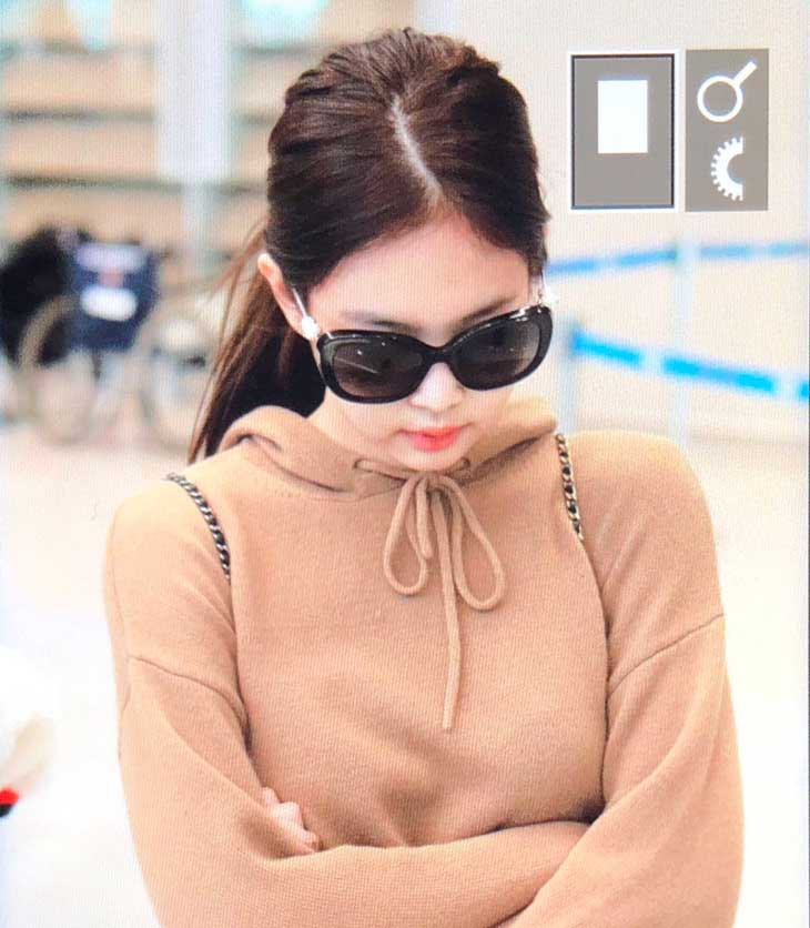 BLACKPINK Jennie Airport Photo at Incheon on October 20, 2018