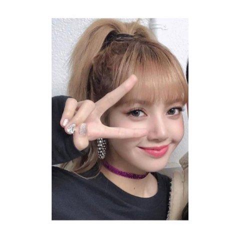 1-BLACKPINK Lisa nail Art nailtam2na