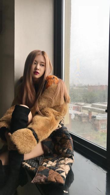 1-BLACKPINK Rose Instagram Story 22 Nov 2018