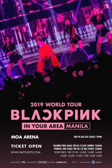 1-BLACKPINK concert manila Philippines