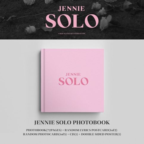 2-BLACKPINK JENNIE SOLO PHOTOBOOK-BUY