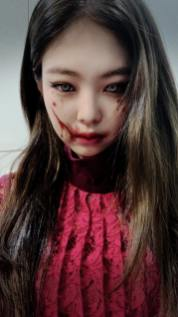 2-BLACKPINK Jennie Instagram Story 31 October 2018 Halloween