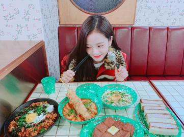 2-BLACKPINK Jisoo Instagram Photo 29 Nov 2018 Dosan Bunsik