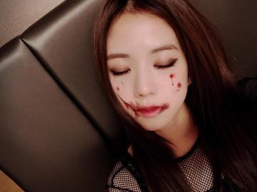 2-BLACKPINK Jisoo Instagram Photo 31 October 2018 Halloween