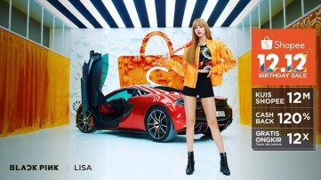 3-BLACKPINK Lisa Shopee Indonesia Commercial