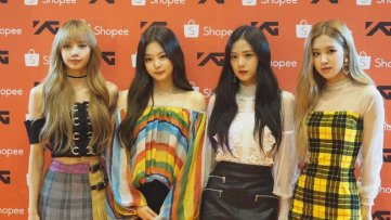 3-BLACKPINK Shopee Indonesia Press Photos