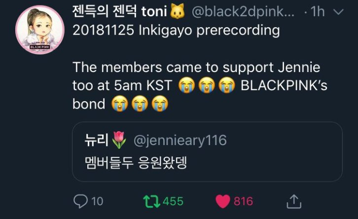 4-BLACKPINK Members Supporting Each Other