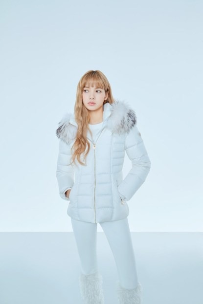 5-HQ-BLACKPINK GUESS Winter Coat Jacket Collection