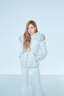 6-HQ-BLACKPINK GUESS Winter Coat Jacket Collection
