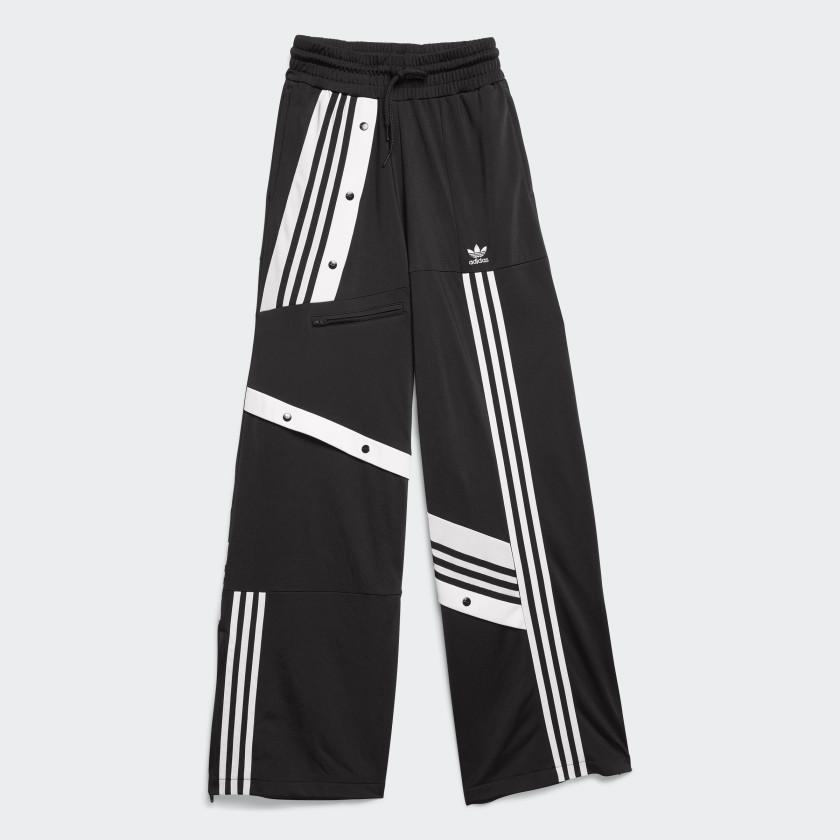 Para exponer vocal Perfecto  BLACKPINK Jennie adidas Deconstructed track pants