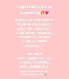 Blackpink Rose Instagram And Insta Story Update November 1 2018
