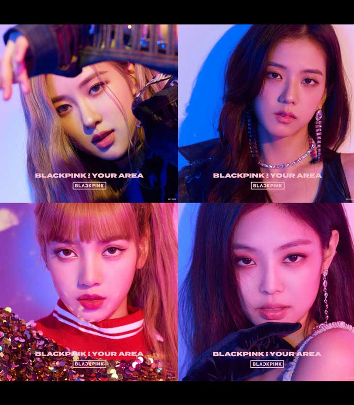 See Photos from BLACKPINK In Your Area New Japanese Album 2018
