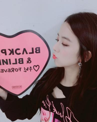 1-Jisoo Instagram Photo BLACKPINK BLINK Forever