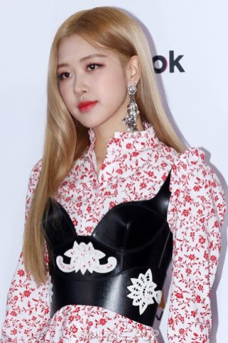 14-BLACKPINK Rose SBS Gayo Daejun 2018 Red Carpet