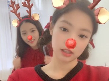 4-BLACKPINK Merry Christmas Message Instagram