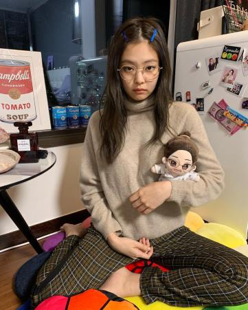 9-BLACKPINK Jennie Instagram Photo 27 December 2018