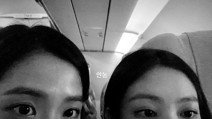 Jennie Jisoo Jensoo forehead