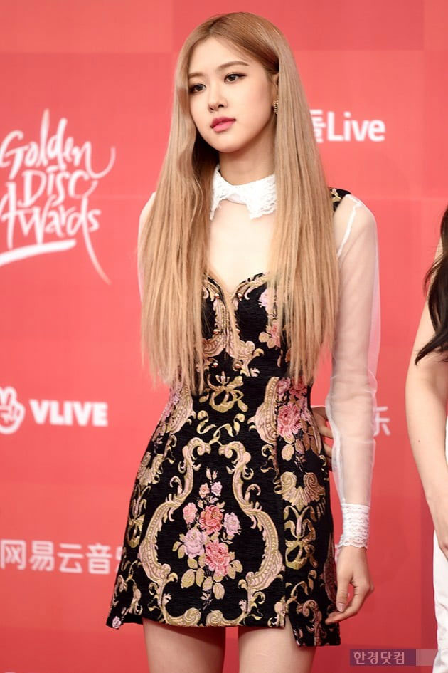 Blackpink Rose At Golden Disc Awards 2019 Red Carpet