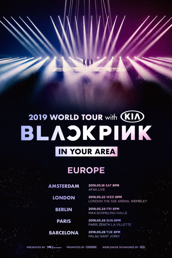 BLACKPINK 2019 World Tour in Europe, Check Countries and Dates Here