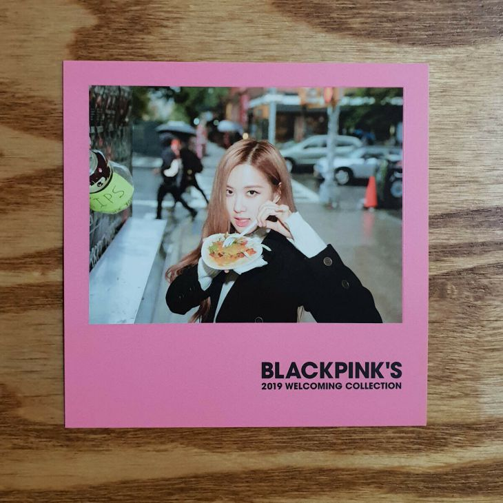 1 Polaroid Photocards BLACKPINK 2019 Welcoming Collection