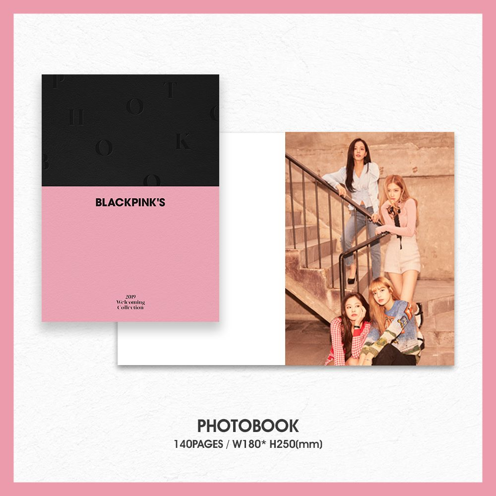 4 BLACKPINK Welcoming Collection 2019 Merch