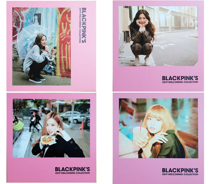 cover Polaroid Photocards BLACKPINK 2019 Welcoming Collection